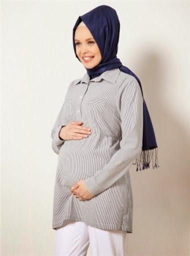 Trend Model Baju Hamil Wanita Muslimah Terbaru 2020 2020