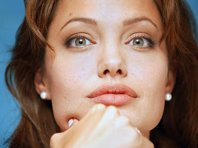 Angelina Jolie in think about