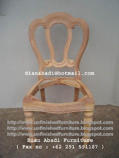 Furniture klasik kursi klasik mebel ukir klasik jepara supplier furniture klasik mentah unfinished wooden frame chair jepara supplier mebel klasik