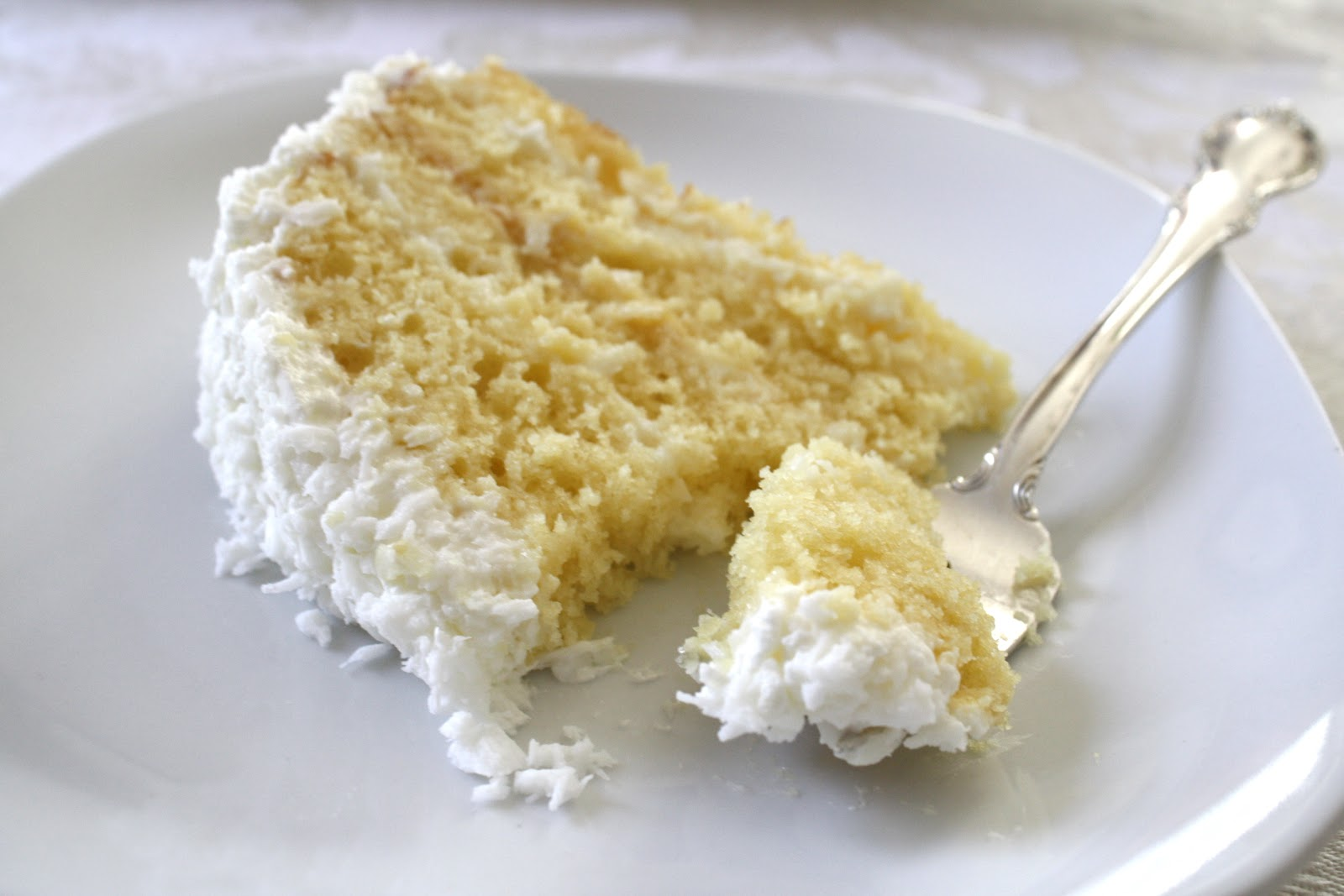 ... here this coconut cake is the best coconut cake that there is you may