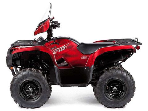 2013 Yamaha Grizzly 700 FI Auto 4x4 EPS LE ATV pictures. 480x360 pixels
