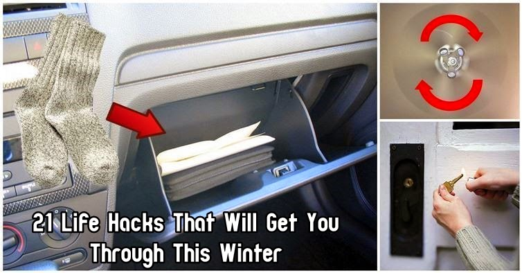 21 Life Hacks That Will Get You Through This Winter