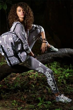 Adidas Originals e Farm terceira coleção roupas esportivas mochila e tênis
