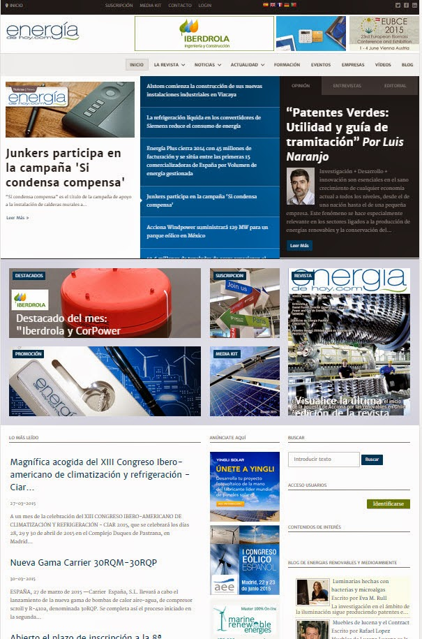 Revista energias renovables