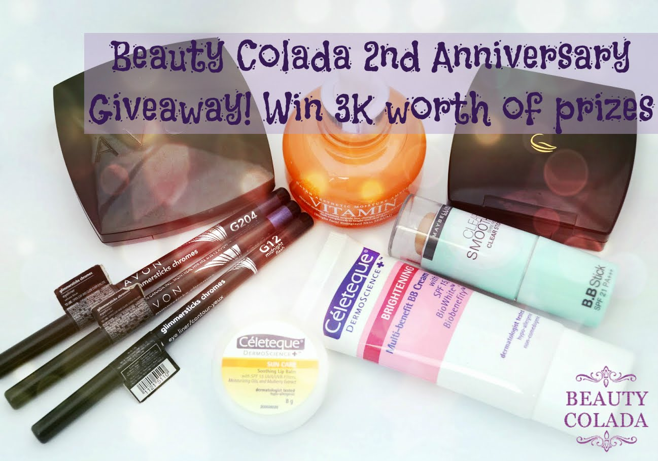 2nd Blog Anniversary Giveaway!