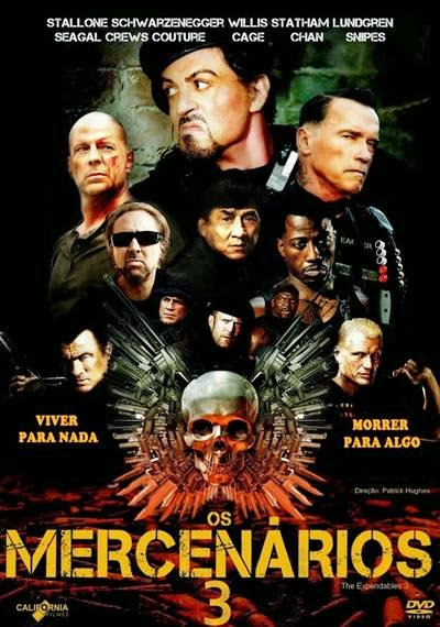 Os Mercenarios 3 Dublado RMVB + AVI Legendado 720p DVDSCR