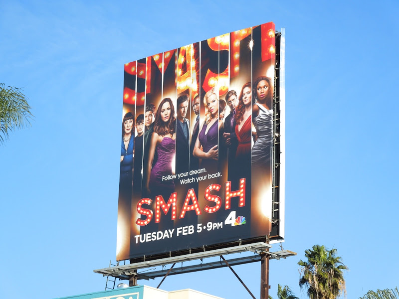 Smash season 2 billboard