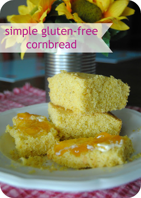 GF)2: The Everyday Celiac: Simple Gluten-Free Cornbread