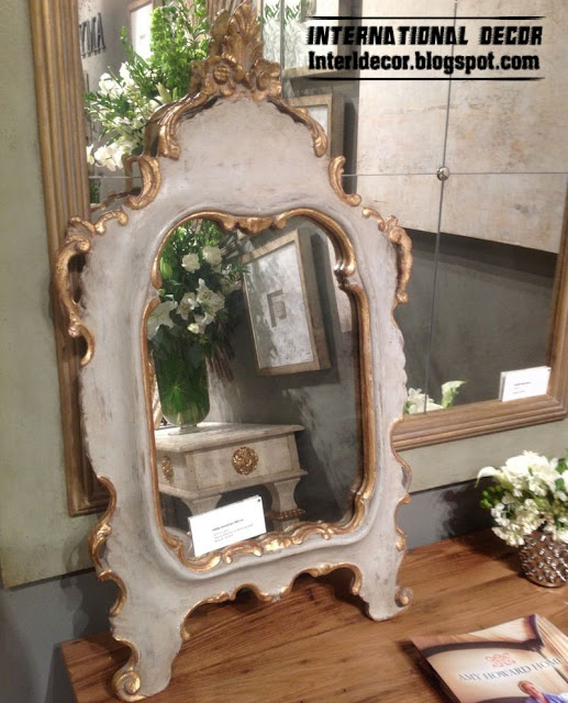 mirror frames classic design Classic mirror frames golden for wall decorating