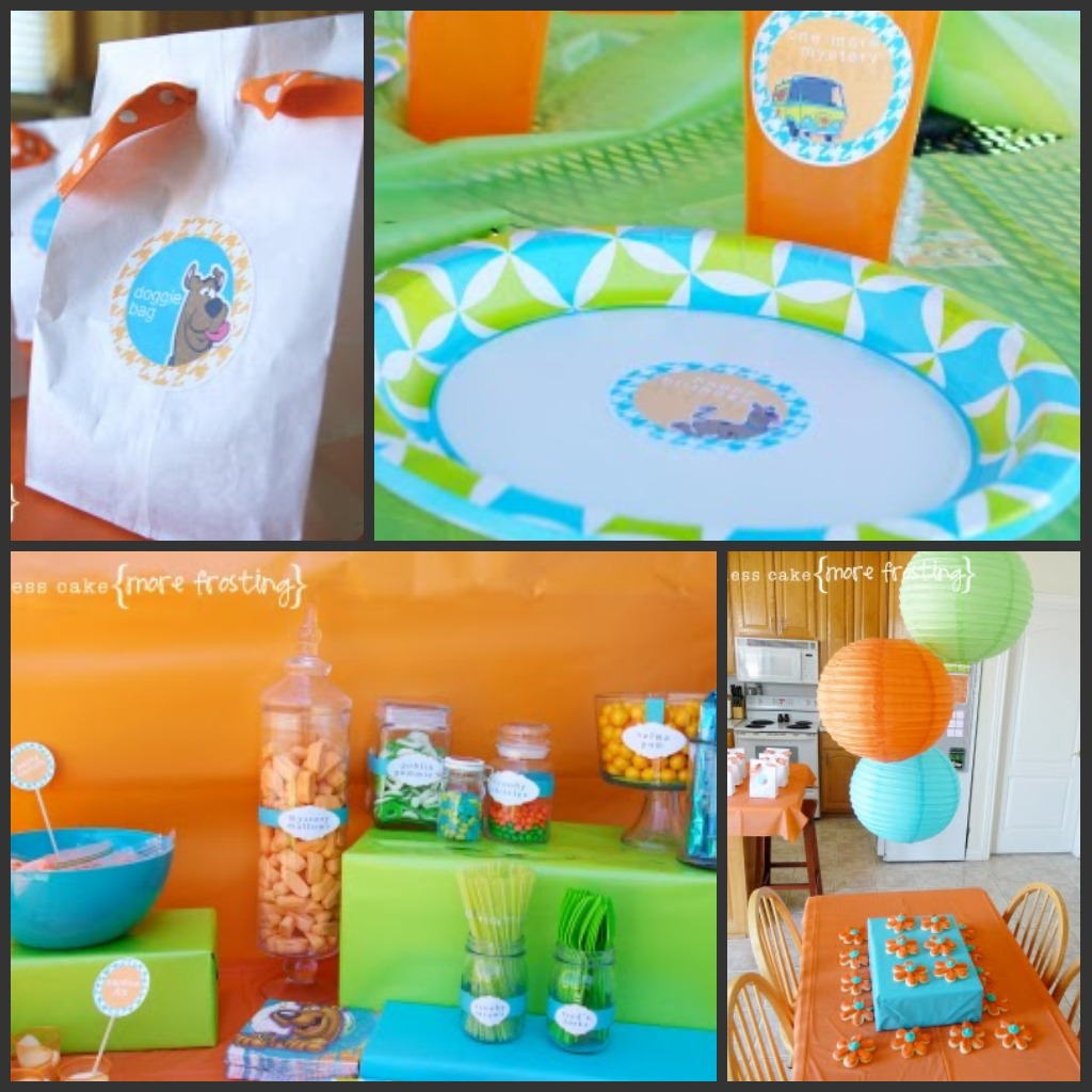 Scooby Doo Party Theme by Less Cake More Frosting 1024 x 1024   206 kB. Project Decoration  Scooby Doo Party Supplies