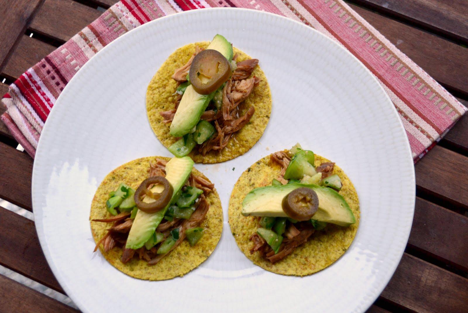 Asian Tacos With Tomatillo Salsa Recipe
