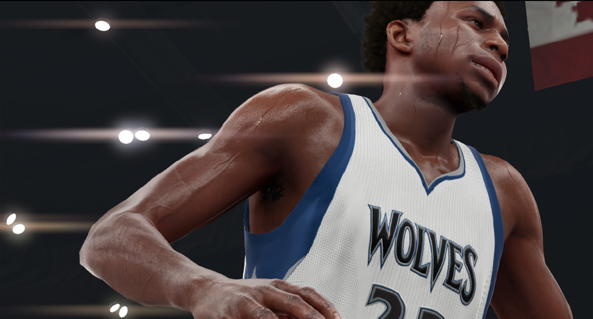 NBA 2k16 Screenshot - Andrew Wiggins Wolves