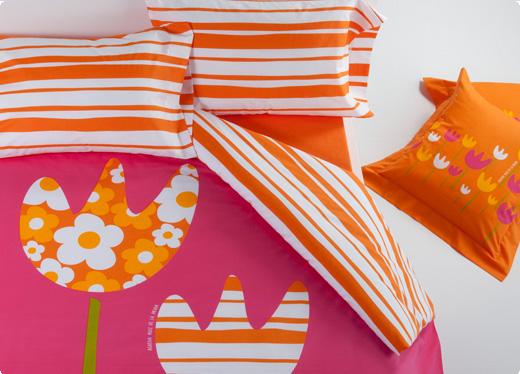 El blog de Marga: El colorido de Agatha Ruiz de la Prada en mi cama