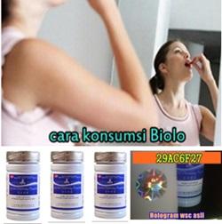 cara minum obat pelangsing wsc biolo