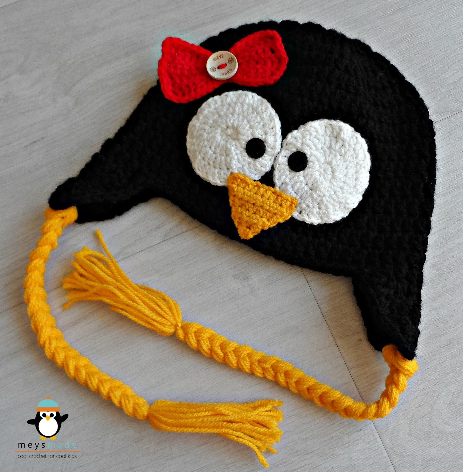 meys made cool crochet for cool win a free penguin