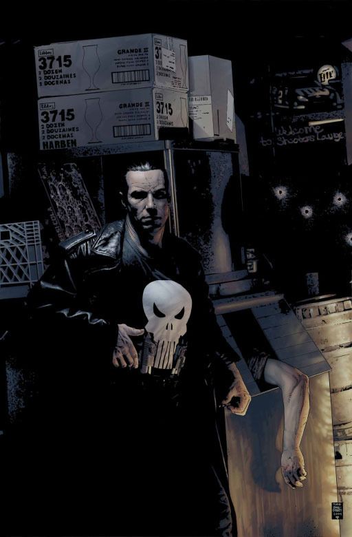 Punisher central pc post 32 the devil 39 s in the details for Donald bradstreet