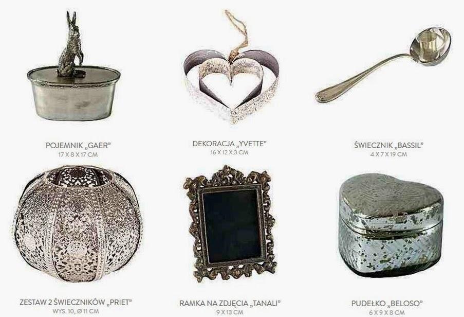 Stylowe dekoracje, orientalny świecznik, metalowe pudełko w kształcie serca, ramka vintage