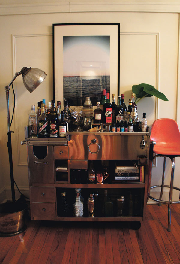 This Is A Cocktail Blog Our Home Bar