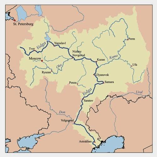 Don-Volga-Kanal-Projesi