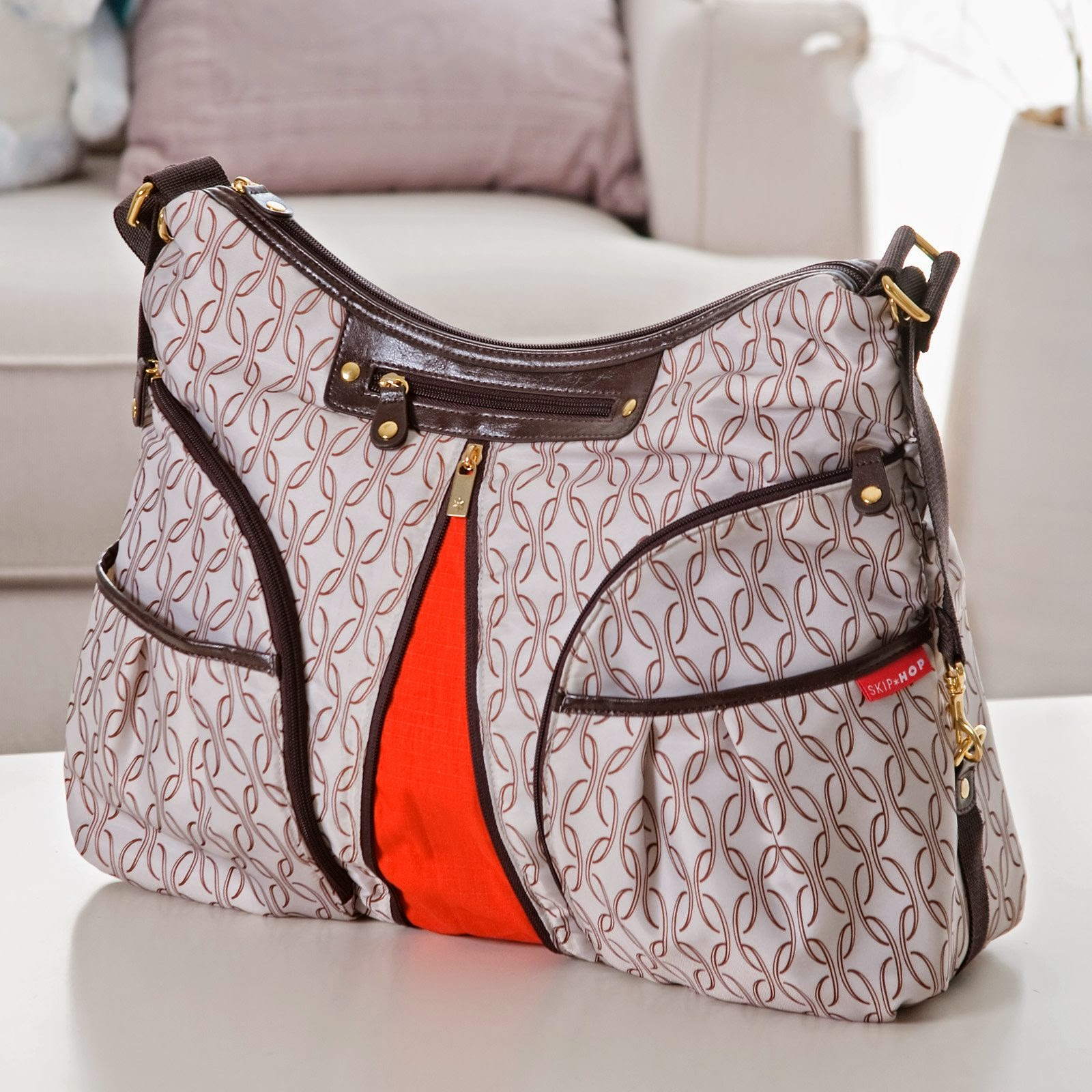 baby bump coffeebean nappy bag diaper bag vanchi fleetwood skip hop versa vs storsak nina. Black Bedroom Furniture Sets. Home Design Ideas