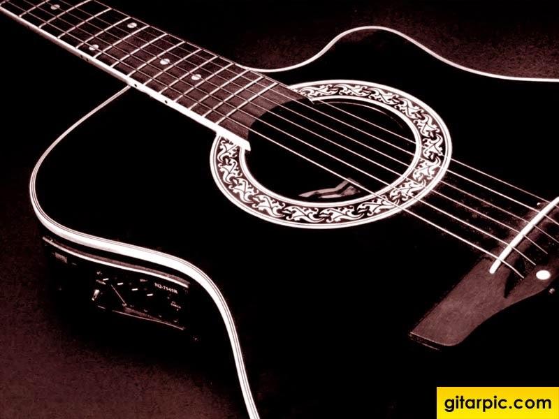 Gitar Akustik adalah