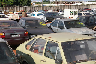 Detran/DF vai leiloar em Brasília mais de 1270 veículos