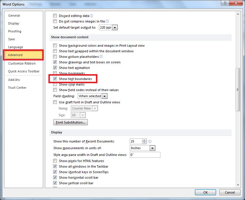 Cara Mudah Menampilkan Garis Pinggir di Microsoft Word 2007 dan 2010