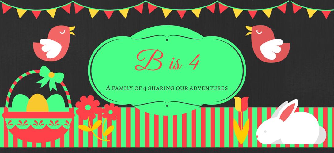 B is 4