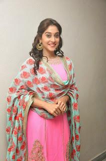 Actress Regina Latest Pictures in Salwar Kameez at Ranam 2 Audio Launch  39.jpg