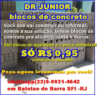 DR JUNIOR BLOCOS DE CONCRETO