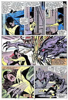 X-men v1 #143 marvel comic book page art by John Byrne
