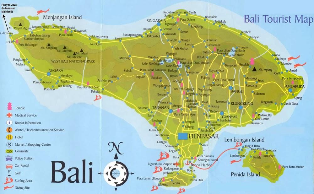 Lokasi dan Tempat Objek Wisata Di Bali Terpopuler Untuk Tour