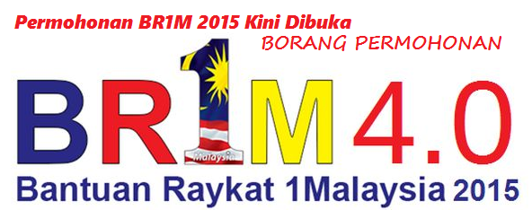 Permohonan BR1M 2015 Kini Dibuka