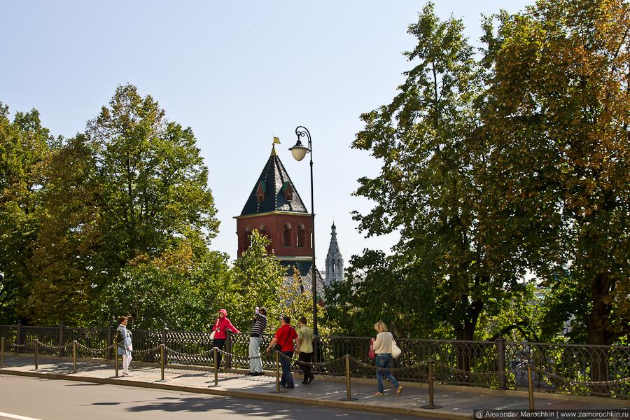 Верхушка Тайницкой башни | The Top of the Secret (Tainitskaya) Tower