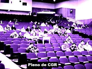 Pleno del CGR