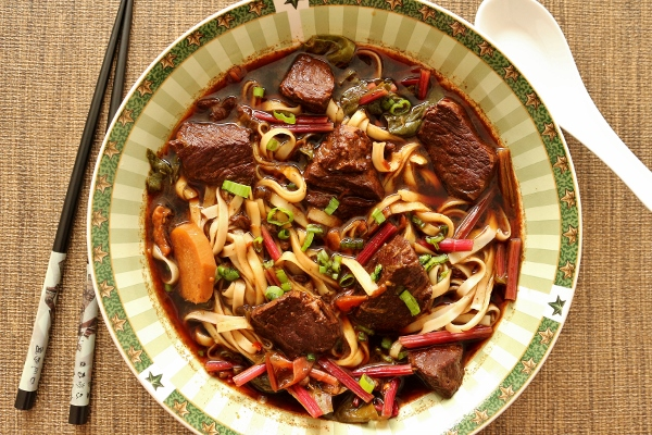Taiwanese Beef Noodle Soup Recipe — Dishmaps