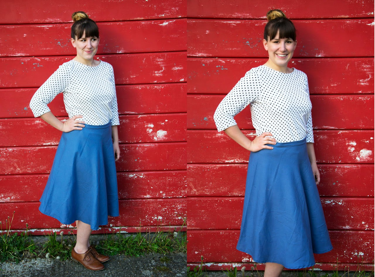 My First Ever Circle Skirt