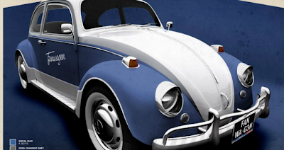 Fanwagen: el primer vehículo retro inspirado en Facebook