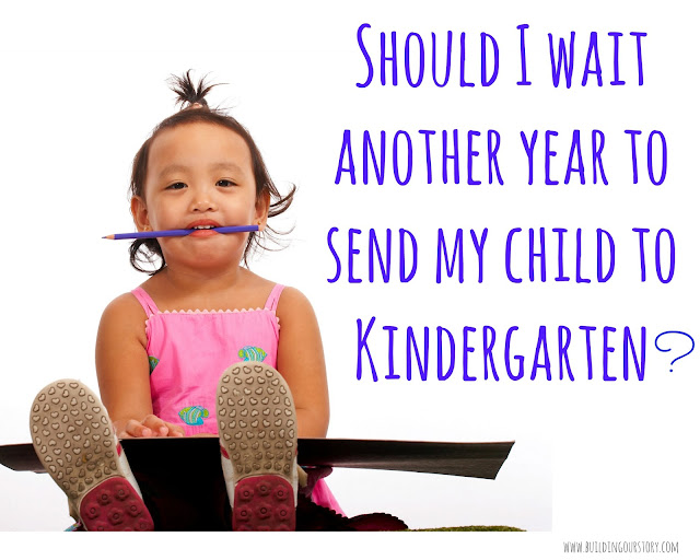 Why We Are Delaying Kindergarten For Our Son, Red shirting our son for kindergarten, waiting to start kindergarten for our son, Should I redshirt my Kindergartener?, why we are delaying kindergarten for our son