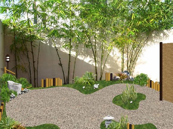 Dise os 2d de jardines fotos renders sobre varias for Diseno de patio exterior pequeno