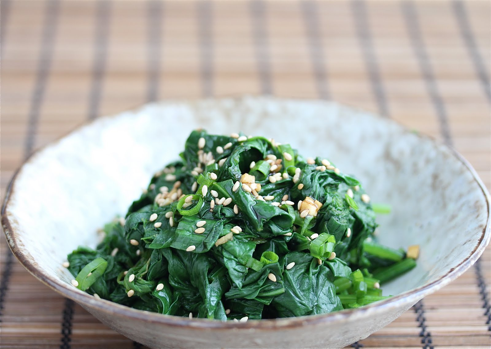 Easy Korean Spinach Salad 