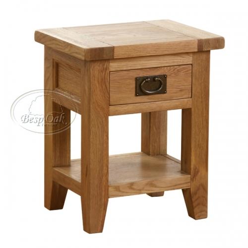 Tủ đầu giường gỗ sồi Vancouver 1 ngăn kéo