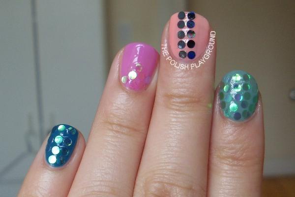 Born Pretty Store Round Circle Glitters Review