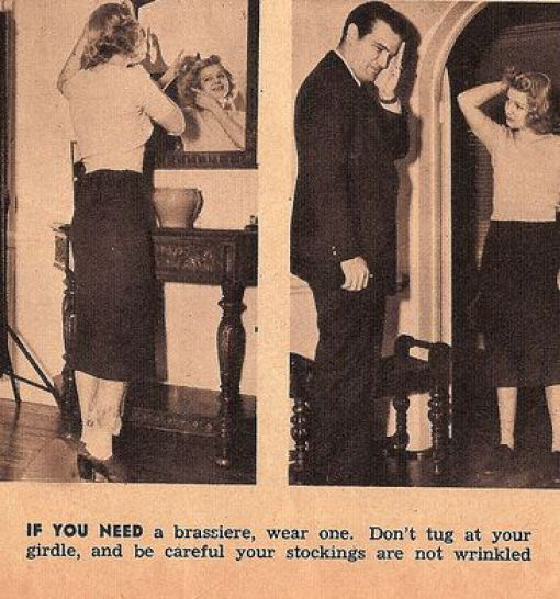 Vintage Everyday: 13 Hilarious And Sexist Dating Tips For