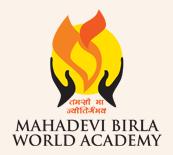 Mahadevi Birla World Academy Logo