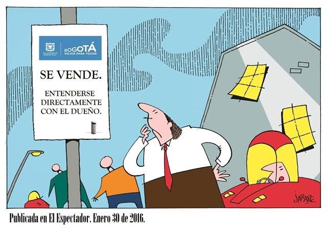 Se vende Bogotá
