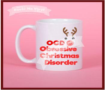 OCD Christmas Mug
