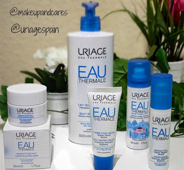 Sorteo de dos lotes de 5 productos en colaboración con Uriage España .