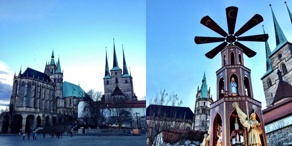 Mmi, Mittwochs mag ich, Frollein Pfau, Erfurt, IBB Hotel, Roter Turm, Erfurt, Krämerbrücke, Thüringen, Dom, Domplatz, Erfurter Dom