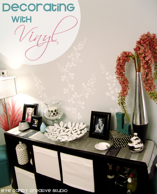 dining room wall, home deorating, black and white, vinyl designs